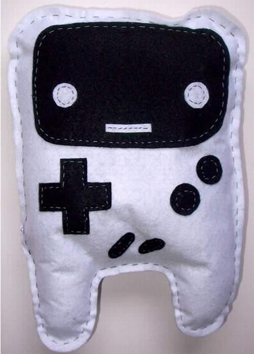 gameboy plushie