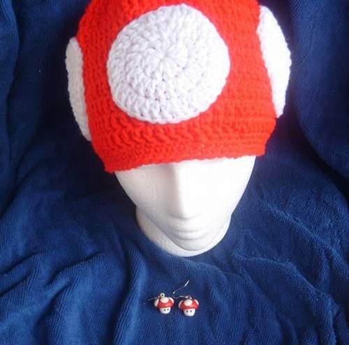 super mario mushroom hat