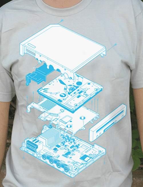Nintendo Wii Console T Shirt