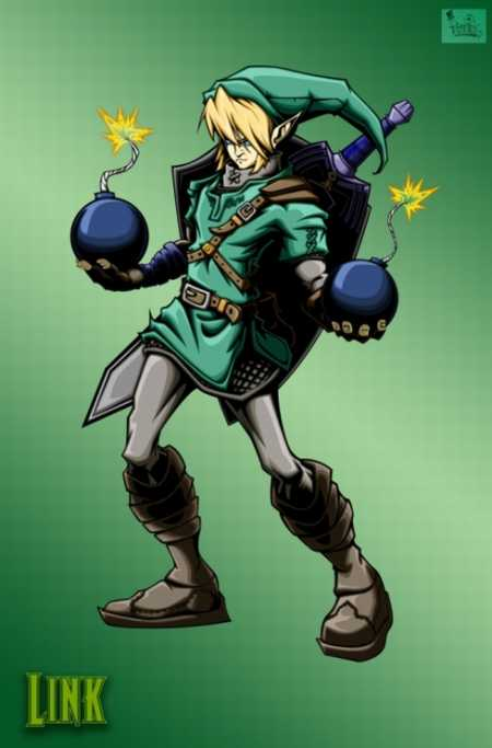 link-super-smash-bros-brawl-character-art