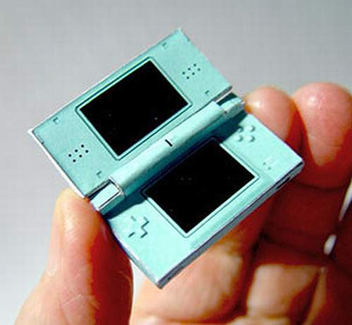 Nintendo DS Papercraft