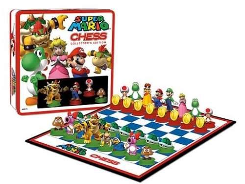 super mario chess board