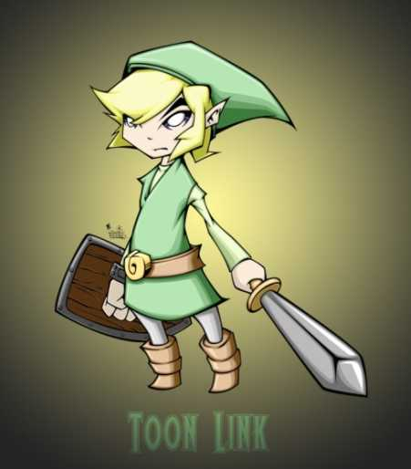toon-link-super-smash-bros-brawl-character-art