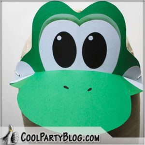 cool yoshi hat art craft