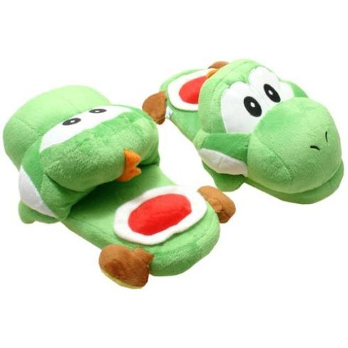 yoshi accessory slippers