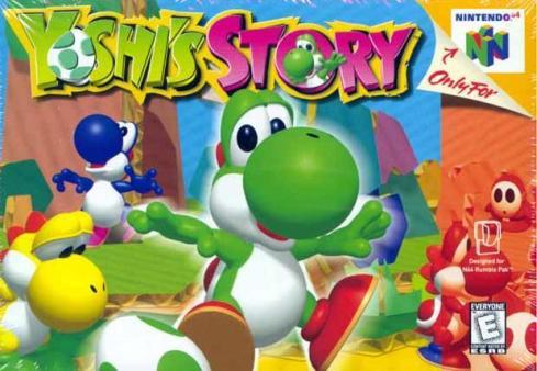 yoshi story n64 game