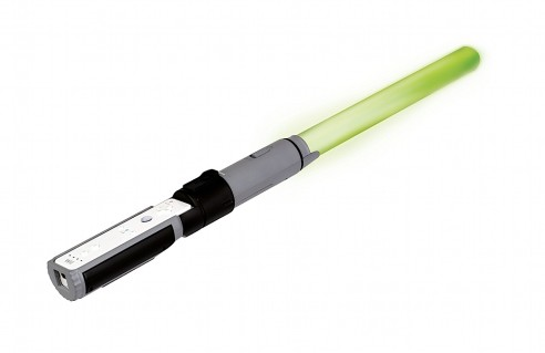 star wars green lightsaber wii