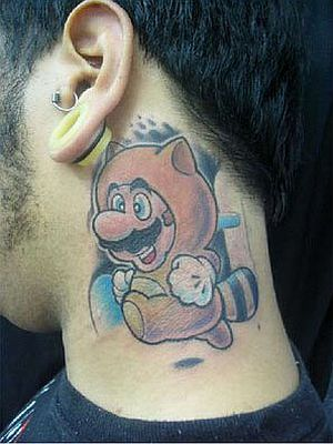 Awesome Super Mario Bros Tattoos