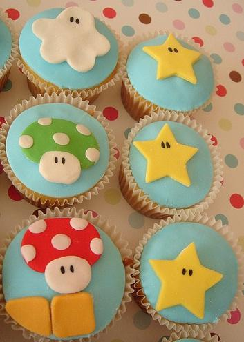 awesome super mario brothers cupcakes