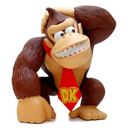 donkey kong collectible viny figure