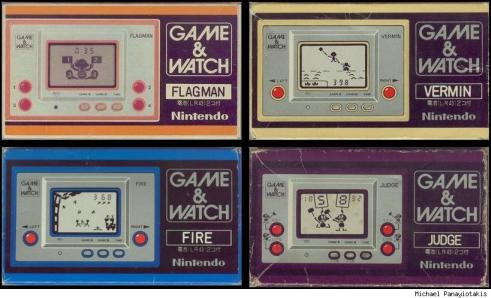 nintendo dsi game and watch
