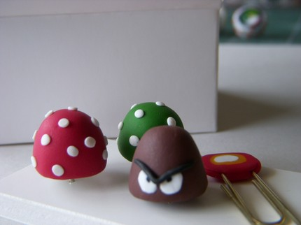super mario brothers paperclips