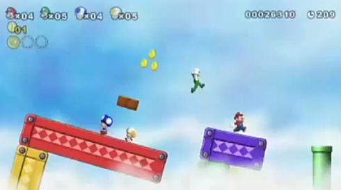 super mario brothers wii game