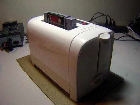 super nintendo toaster mod
