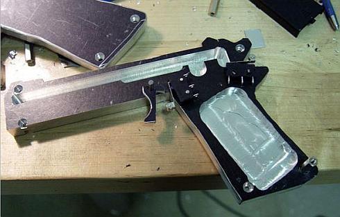 wiimote mod pistol nintendo