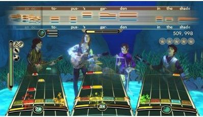 beatles video game rock band