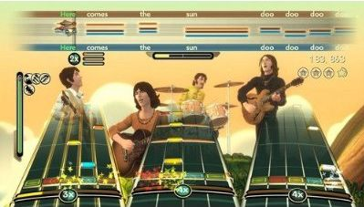 rock band the beatles game