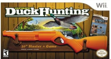 ultimate duck hunting wii game
