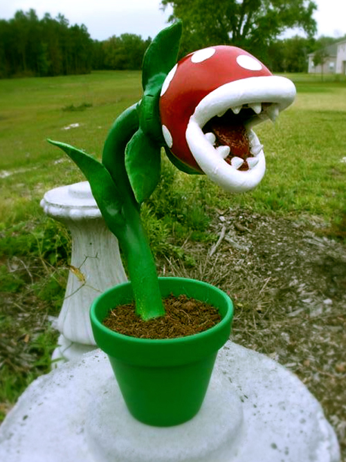 super mario bros piranha plant