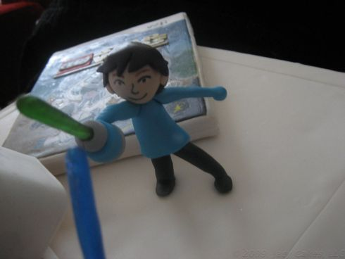 mii avatar cake design