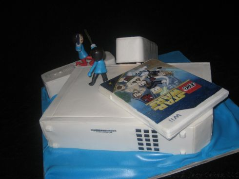 new wii cake star wars