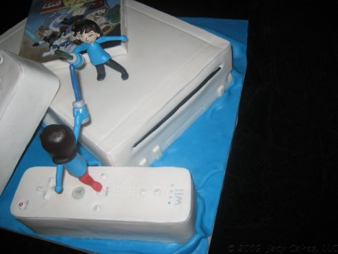 cool mii avatars cake