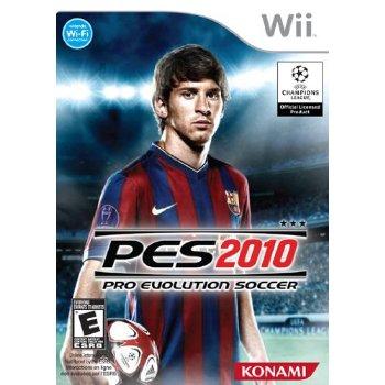 pro evolution soccer 2010 nintendo wii