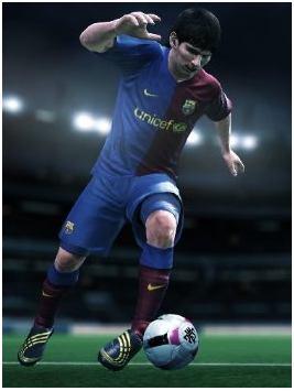 wii pro evolution soccer 2010