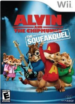Alvin and Chipmunks Squeakquel Wii