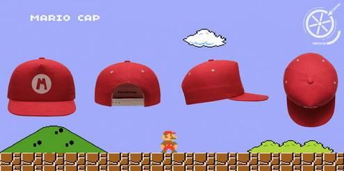 Mario Caps retro games fans1
