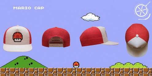 Mario Caps retro games fans2