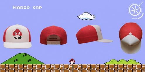 Mario Caps retro games fans3