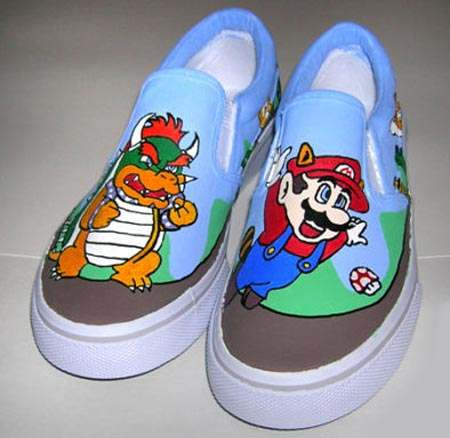 Mario Colorful Shoes