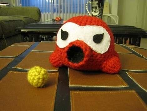 Octorok Crochet