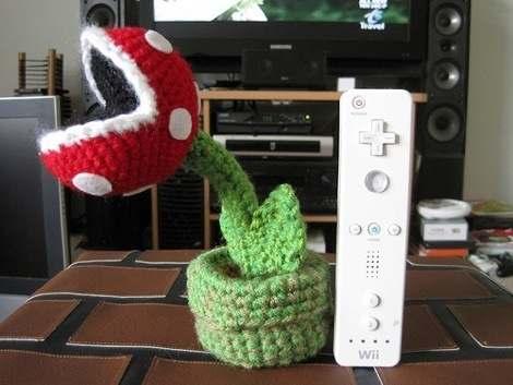 Piranha Plant Crochet