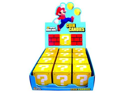 Super Mario Coin Candles