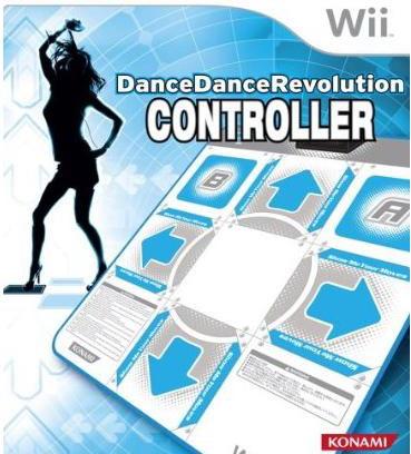 dance revolution control