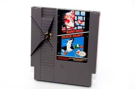 duck hunt clock