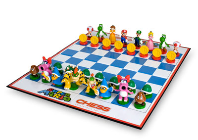 indoor mario chess
