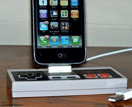 nes iphone dock front