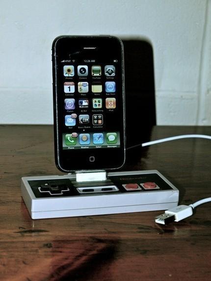 nes iphone dock usb