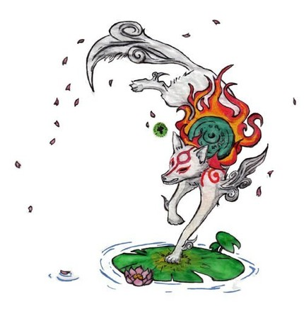 okami decal cool