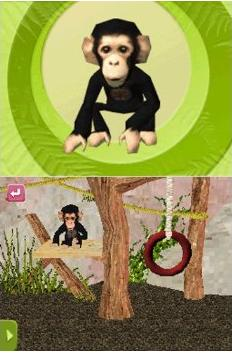 zoo keeper monkey