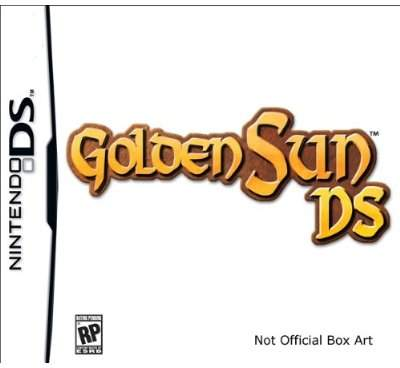 Golden Sun DS Game 1