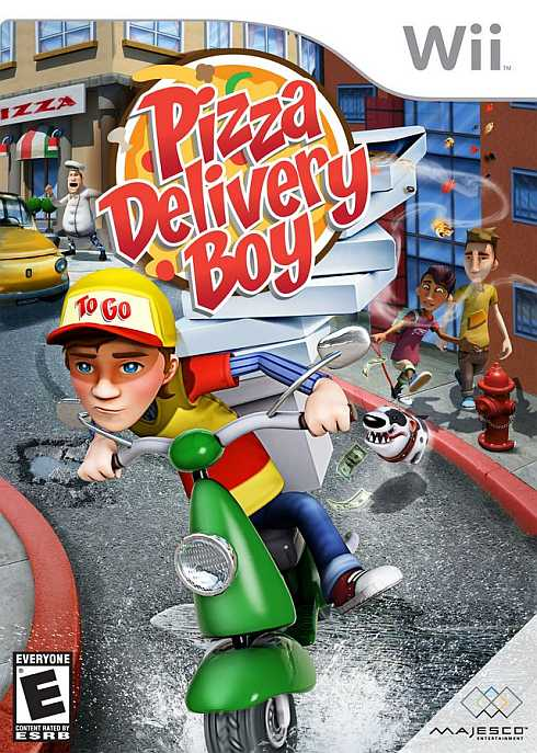 Pizza Delivery Boy 1