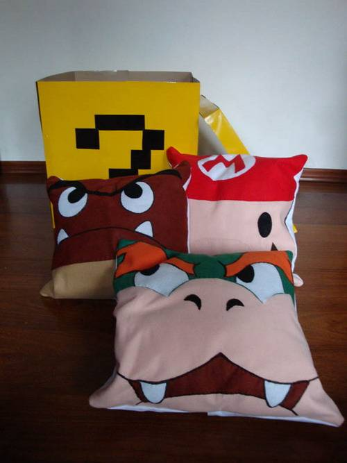 Super Mario Pillows