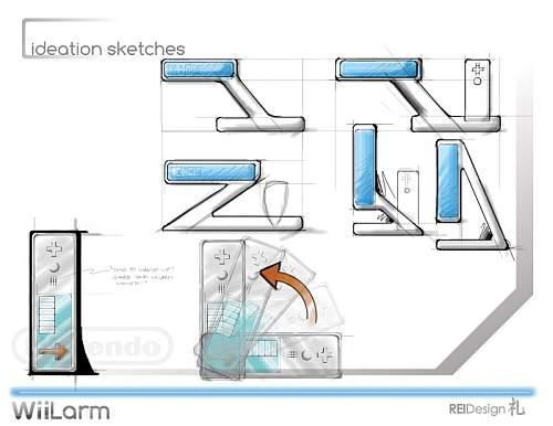 WiiLarm Design Concept 2