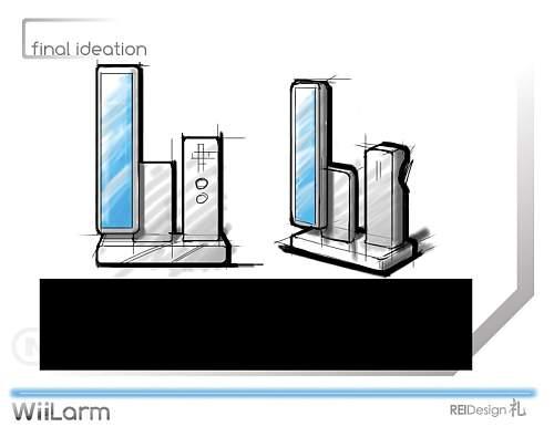 WiiLarm Design Concept 4