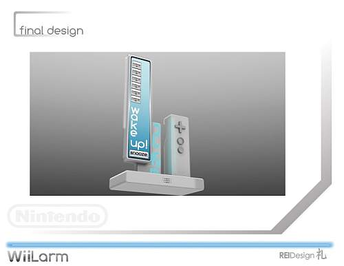 WiiLarm Design Concept 5
