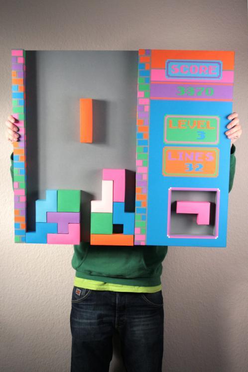 nintendo tetris gameboy papercraft